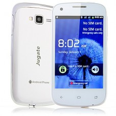 K2 Smart Phone Android 2.3 OS SC6820 4.0 Inch 3.0MP Camera Multi-touch Screen- White