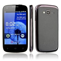 K2 Smart Phone Android 2.3 OS SC6820 4.0 Inch 3.0MP Camera Multi-touch Screen- Black