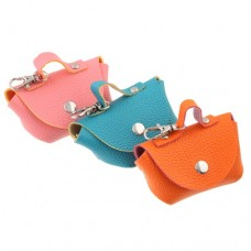 Colorful Imitation Leather Fashion Mini Purse
