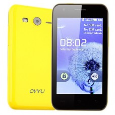 K9 Smart Phone Android 2.3 OS SC6820 4G 4.0 Inch 3.0MP Camera- Yellow
