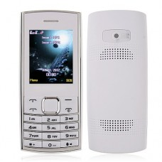 ZTK X2-05 Phone Dual Band Dual SIM Card Bluetooth FM Camera 2.0 Inch- White