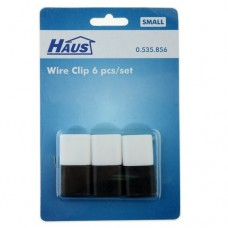 6Pcs Wire Clip Scattered Wires Organize Small