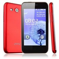 K9 Smart Phone Android 2.3 OS SC6820 4G 4.0 Inch 3.0MP Camera- Red