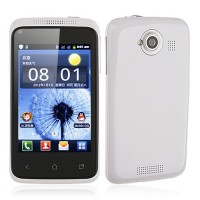 K1 Smart Phone Android 2.3 SC6820 1.0GHz WiFi 3.5 Inch Capacitive Screen- White
