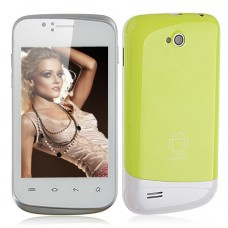 F1658 Smart Phone Android 2.3 SC6820 1.0GHz WiFi 3.5 Inch Capacitive Screen- Green