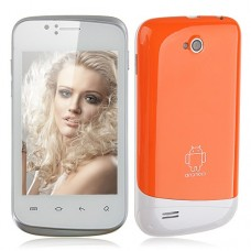 F1658 Smart Phone Android 2.3 SC6820 1.0GHz WiFi 3.5 Inch Capacitive Screen- Orange