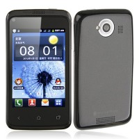 K1 Smart Phone Android 2.3 SC6820 1.0GHz WiFi 3.5 Inch Capacitive Screen- Black