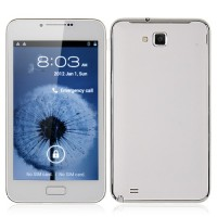 U920+ Smart Phone Android 4.0 MTK6577 Dual Core 3G GPS 5.0 Inch 8.0MP Camera- White