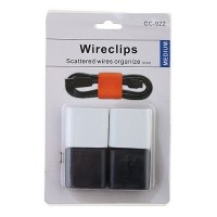 4Pcs Wire Clip Scattered Wires Organize
