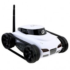 i-Spy Tank App-Controlled Wireless Spy Funny Toy Move Motion Video Camera for iPad iPhone iPod