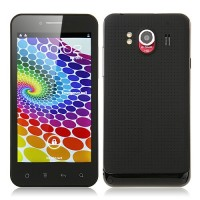 Star B792 Smart Phone Android 4.0 MTK6577 Dual Core 3G GPS 4.3  Inch QHD Screen- Black
