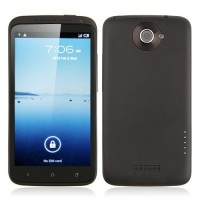 ONE X Smart Phone Android 4.0 MTK6575 3G GPS 16G 4.0 Inch 8.0MP Camera- Black