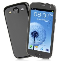 F9300 Smart Phone Android 4.0 MTK6577 Dual Core 3G GPS 4.7 Inch- Black