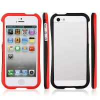 Fashion Streamline Plastics Frame Case Bumper for iPhone5