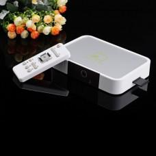 GV-17 Android TV Box 2.0MP Camera VGA HDMI AV SPDIF RJ45 A10 1G RAM 8GB- White