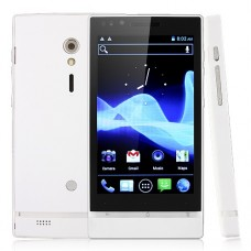 X26+ Smart Phone Android 4.0 MTK6577 Dual Core 3G GPS 8.0MP Camera 4.0 Inch- White