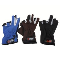 Brand New Man Skidproof Wear Resistant Professional Fishing Rod Gloves