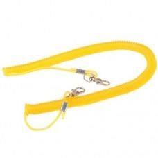 3m Fish Pole Rod Protector Elastic Plastic Rope Line Color Random