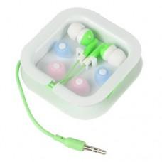3.5mm Audio In-Ear Earphone Headset -Green