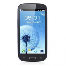 I9300 Smart Phone Android 4.0 OS SC6820 1.0GHz 4.7 Inch 2.0MP Camera- Blue