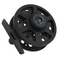 3/4 Fly Fishing Reel Fishing Tackle Tool for Fisherman - Black