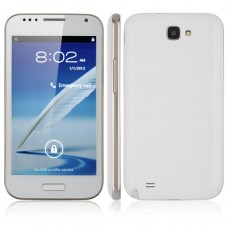 N7100 Smart Phone Android 4.0 MTK6577 Dual Core 3G GPS 5.0 Inch 8.0 Camera