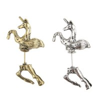 Legendary Unicorn Horse Shaped Metal Ear Plug