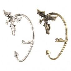 Oriental Dragon Pattern Metal Ear Clip