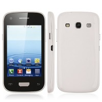 S9300 Mini Smart Phone Android 2.3 MTK6515 1.0GHz 3.5 Inch 3.0MP Camera- White