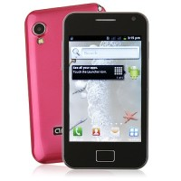 S5830 Smart Phone Android 2.3 OS SC6820 1.0GHz TV WiFi 5.0MP Camera- Red
