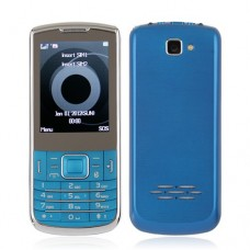 C3782 Dual Band Phone Dual SIM Card TV FM Bluetooth Camera 2.4 Inch- Blue