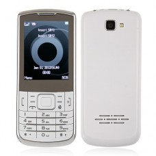 C3782 Dual Band Phone Dual SIM Card TV FM Bluetooth Camera 2.4 Inch- White