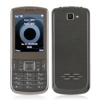 C3782 Dual Band Phone Dual SIM Card TV FM Bluetooth Camera 2.4 Inch- Black
