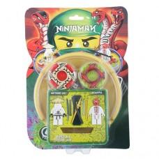 Ninja Man Spinjitzu Senssei & Snaooa Block Gyro