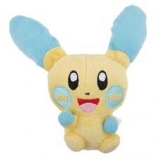Brand New 6.5'' Pokemon Minun Figure Stuffed Animal Plush Toy