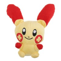 Brand New 6.5'' Pokemon Plusle Figure Stuffed Animal Plush Toy