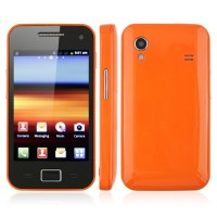 5830 Smart Phone Android 2.3 MTK6515 1.0GHz 5.0MP Multi-touch Screen- Orange