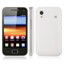 5830 Smart Phone Android 2.3 MTK6515 1.0GHz 5.0MP Multi-touch Screen- White