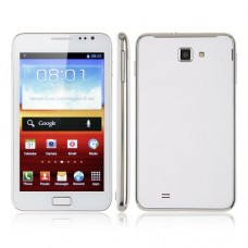 i9220 PRO 5.3 Inch Smart Phone Android 4.0 MTK6577 Dual Core 3G GPS 8.0MP Camera- White
