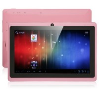 YeahPad A13 Tablet PC 7 Inch Ultra Thin Android 4.0 4GB Camera Pink