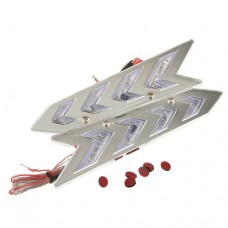 YI-39A Flashing Wiper Wing 7 Color Rolling Series With Wires
