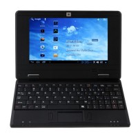 MTL0701 7 Inch Notebook Android 4.0.3 4GB HDMI Laptop PC Black