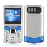 G900 Dual Band Phone Dual SIM Card FM TV Bluetooth Camera 2.0 Inch- Blue