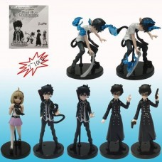 Ao No Blue Exorcist Figures Set of 7pcs Half Age Characters Anime