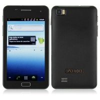 C5B 5.0 Inch Smart Phone Android 2.3 OS SC6820 1.0GHz GPS WiFi- Black