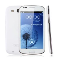 N7000+ Smart Phone Android 4.0 MTK6577 Dual Core 3G GPS TV 5.0 Inch 8.0MP Camera- White