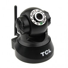 TCL-JPT3815W-B Wireless 0.3 Mega Pixels CMOS 10 LEDS Security IP Camera