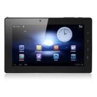 FreeLander PD20 TV Version Tablet PC 7 Inch Android 4.0 DVB-T(MPEG2) 1GB RAM 8GB GPS Dual Camera Black