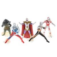 5pcs Cool Ultraman Monster Action Figure Toy Set