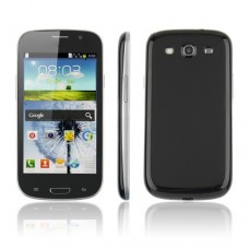 i9300 Smart Phone Android 2.3 SC6820 1.0GHz WiFi TV 4.3 Inch 3.0MP Camera- Black